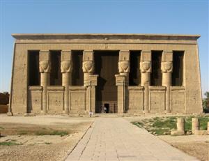 Le temple de Dendera