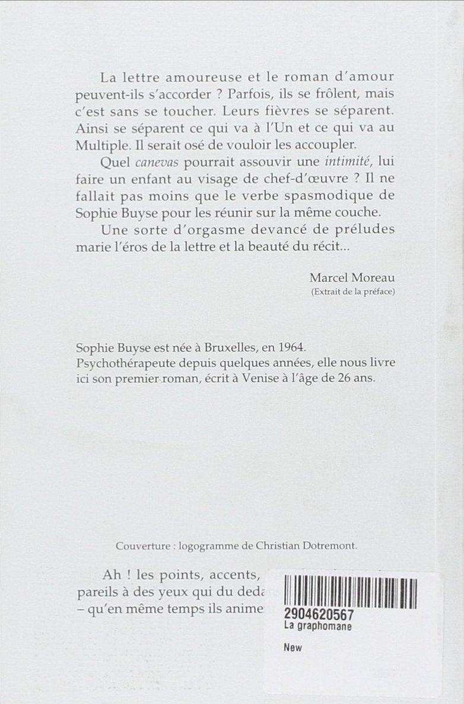 La Graphomane - Verso