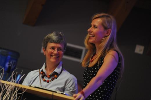 Françoise Majois et Sophie Buyse